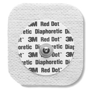 3M™ RED DOT™ DIAPHORETIC SOFT CLOTH MONITORING ELECTRODES 3M/2231