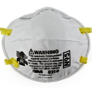 3M™ OCCUPATIONAL N95 PARTICULATE RESPIRATOR 3M/8210