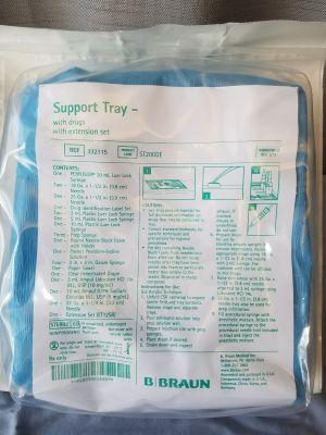 B BRAUN PAIN CONTROL PROCEDURE SUPPORT TRAYS BBR/332115