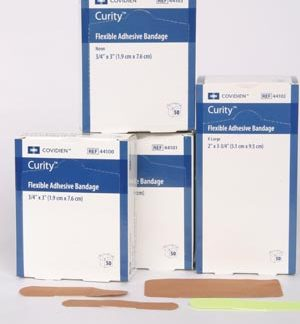 COVIDIEN/MEDICAL SUPPLIES CURITY™ FLEXIBLE FABRIC BANDAGES COV/44100