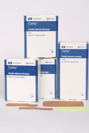 COVIDIEN/MEDICAL SUPPLIES CURITY™ FLEXIBLE FABRIC BANDAGES COV/44101