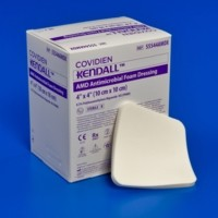 COVIDIEN/MEDICAL SUPPLIES AMD ANTIMICROBIAL FOAM DRESSING COV/55548AMD