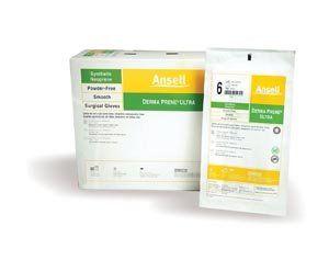 ANSELL DERMA PRENE ULTRA POWDER-FREE STERILE NON-LATEX NITRILE S 8512