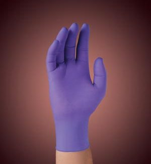 KIMBERLY-CLARK SAFESKIN PURPLE NITRILE EXAM GLOVES - LARGE GLOVE 55083