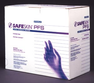 KIMBERLY-CLARK SAFESKIN PFS LATEX SURGICAL GLOVES - SURGICAL GLO 54465